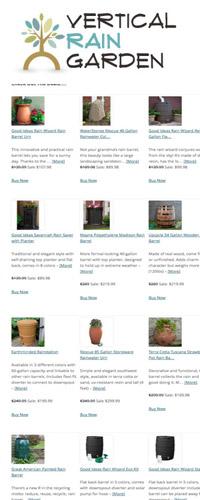 Rain Barrels on Sale