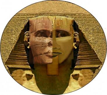 Split Before-After Face of Sphinx Restoration