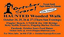 12th Annual October Scare to benefit Flagler Habitat for Humanity