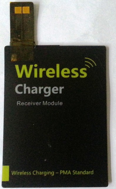 Powermat Compatible PMA Standard Thin Wireless Charging Receiver for GS4