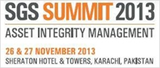 235x100 SGS Asset Integrity Management 2013 Summit