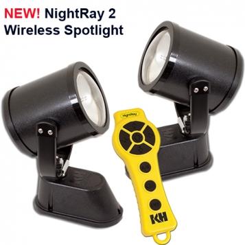 NR3C-1C100-WD, NightRay 2 Spotlight System