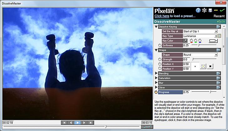 DissolveMaster Dissolves Transitions Plugin Enhanced by Pixelan