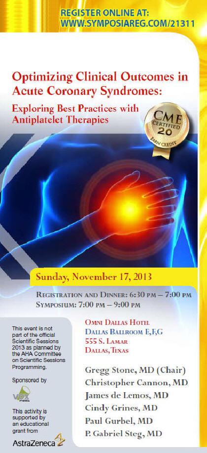 2013 CME Symposium AHAZ
