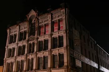 Haunted Bissman Building in Mansfield, Ohio