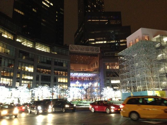 Holiday shopping in New York at Christmas