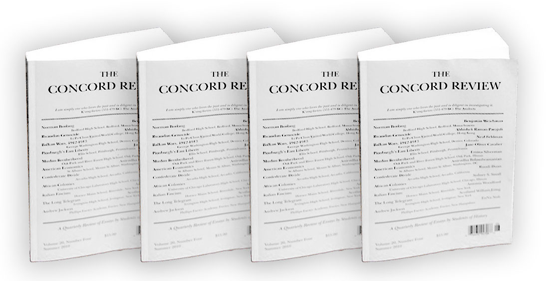 concord review essays Anyone familiar with this can you send in your essay anytime or is there a specific date or deadline.