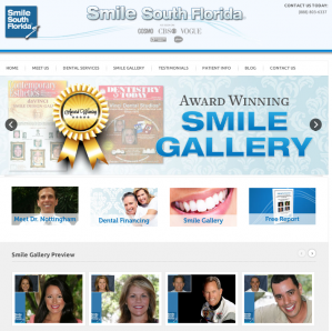 Smile South Florida Cosmetic Dentistry's New Website Launch