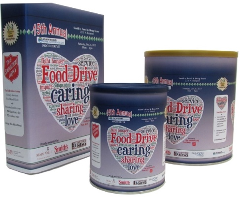 15th annual food drive benefiting the Las Vegas Salvation Army Food Bank
