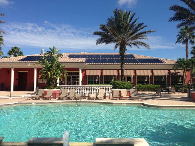 Fafco Solar Installs Solar Pool Heating System On