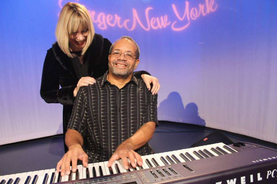 Nat Adderley Jr. with Host Ginger Broderick