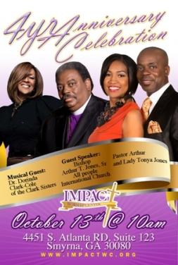 Impact Worship Center Celebrates 4th Anniversary W Grammy