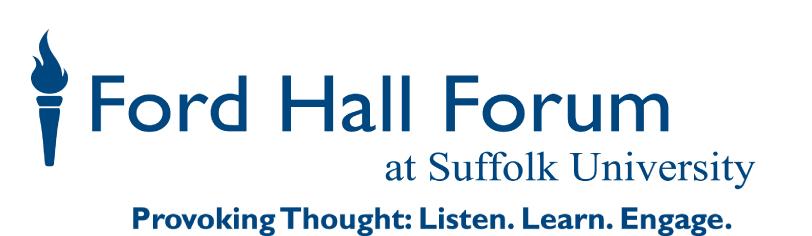 Ford Hall Forum logo