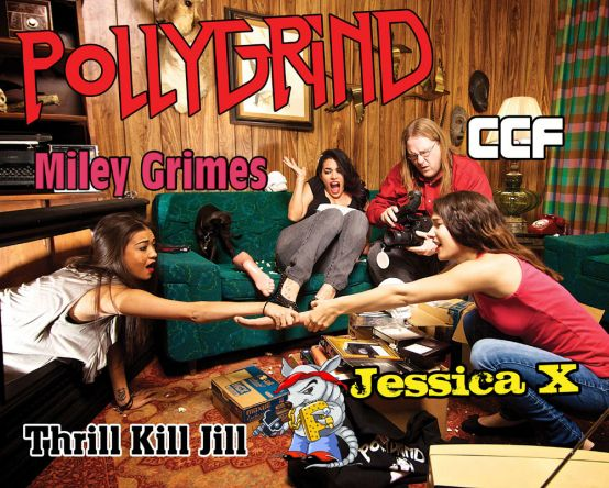 This year marks the introduction of the PollyGrind Girls