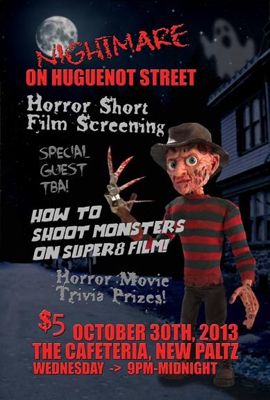 Nightmare on Huguenot Street October 30th, 2013 in New Paltz, NY