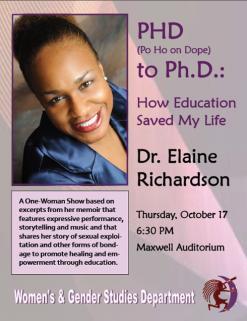 Dr. Elaine Richardson Syracuse University Event