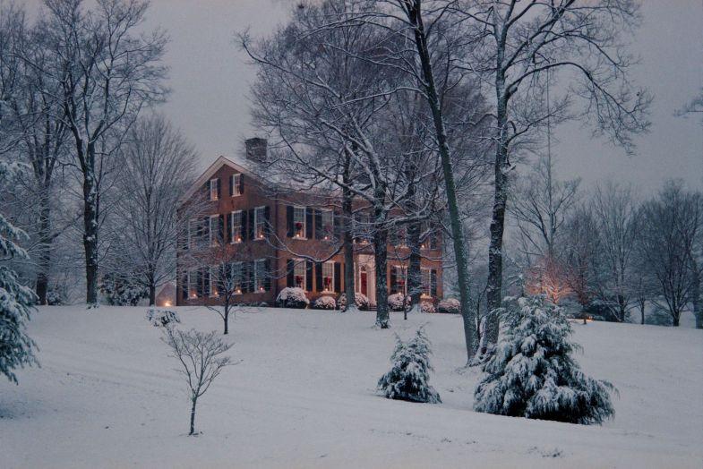 Bardstown MOKH snowy scene