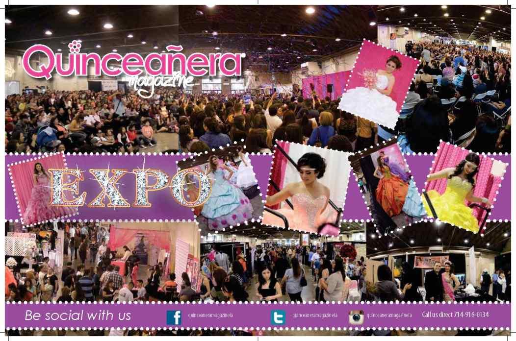 Los Angeles Quinceanera Magazine Expo