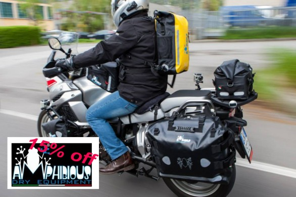 Shop4bikers Amphibious Waterproof Luggage 15%