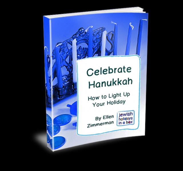 """Celebrate Hanukkah"" explains traditions, blessings, foods, dreidel game"