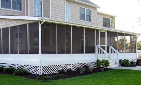 Screen Room for Your Home by Wendel Home Center