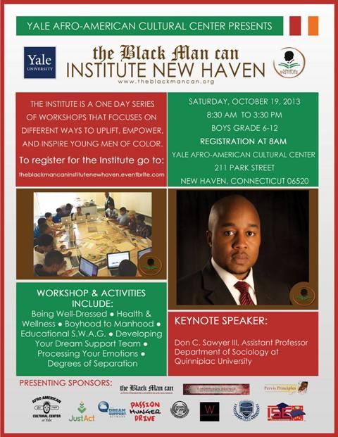 TheBlackManCan - New Haven at Yale University