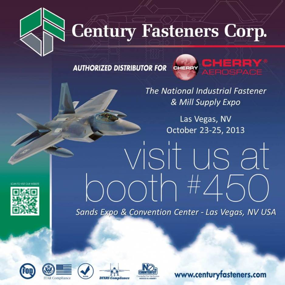 Century Fasteners Corp. and Cherry Aerospace at NIFMS Expo