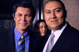 Lou Diamond Phillips and Dr. Robert Ornelas Candidate California Governor