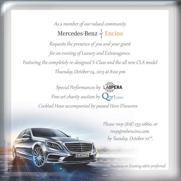 Luxury dealership mercedes benz of encino hosts star for Mercedes benz of encino