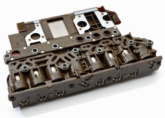 GM OE Transmission Electro-Hydraulic Control Module (TEHCM), Front View