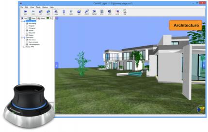 CaniVIZ 3D viewers now handle 3Dconnexion SpaceMouses