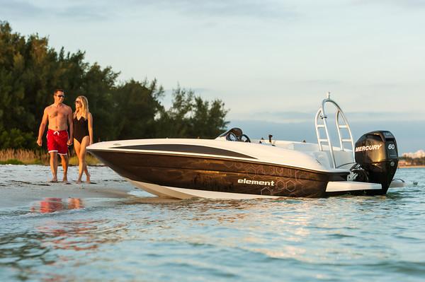 Win this Bayliner Element on Boatbound