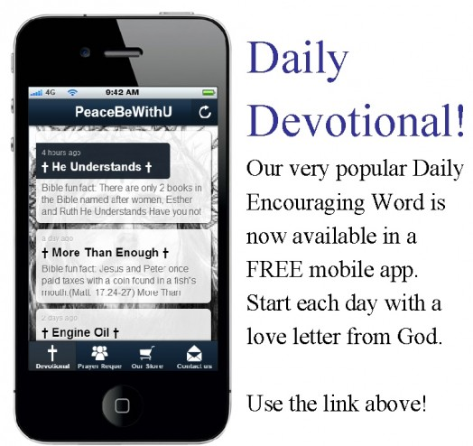 Free Daily Devotional iPhone App