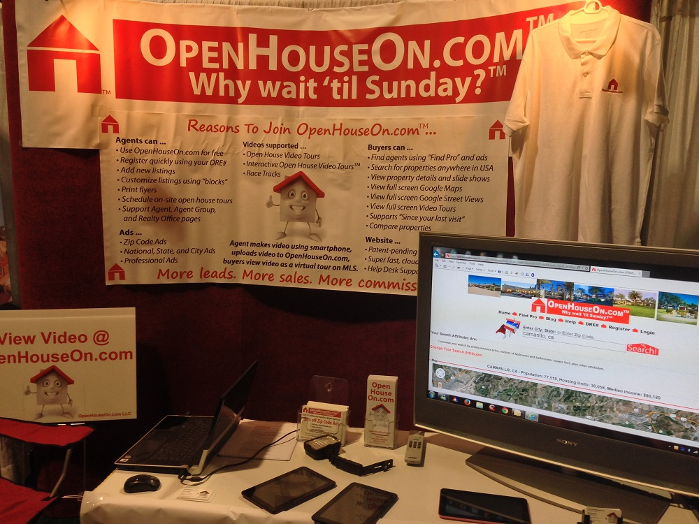 OpenHouseOn.com Booth 438 at Expo