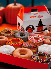 Dunkin' Donuts Halloween Treats