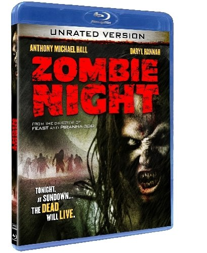 Zombie Night DVD Cover SyFi Channel Unrated
