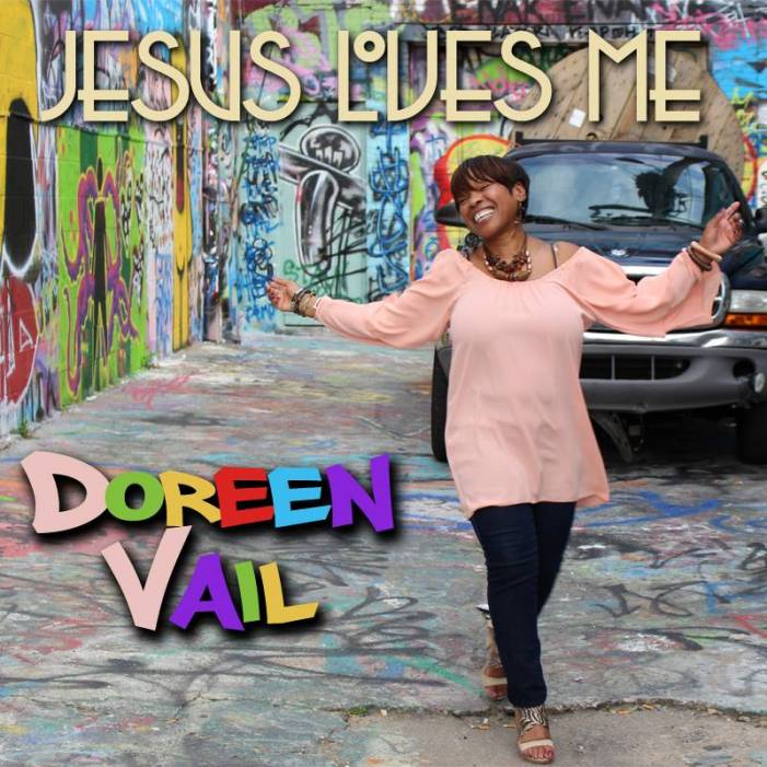 "Doreen Vail's single artwork for ""Jesus Loves Me"""
