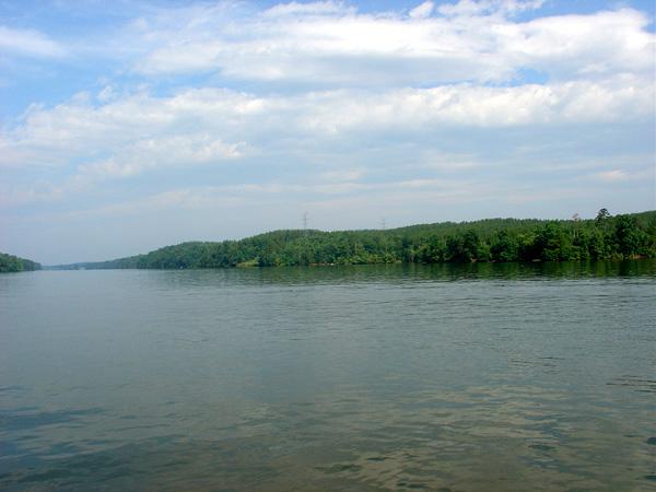 Views of Lake Rhodhiss