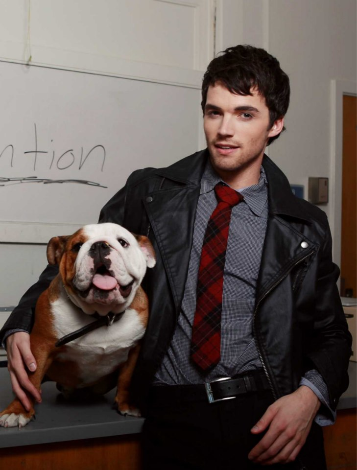 Titan with Pretty Little Liars Actor, Ian Harding [credit: Lesley Bryce | TROIX]