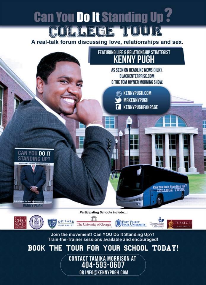 Love & Money Expert Kenny Pugh Launches The CYDISU Tour Nationally