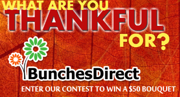 What are you thankful for? BunchesDirect would like to know.