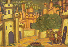 Nicolai Roerich, The Offerings, 1910