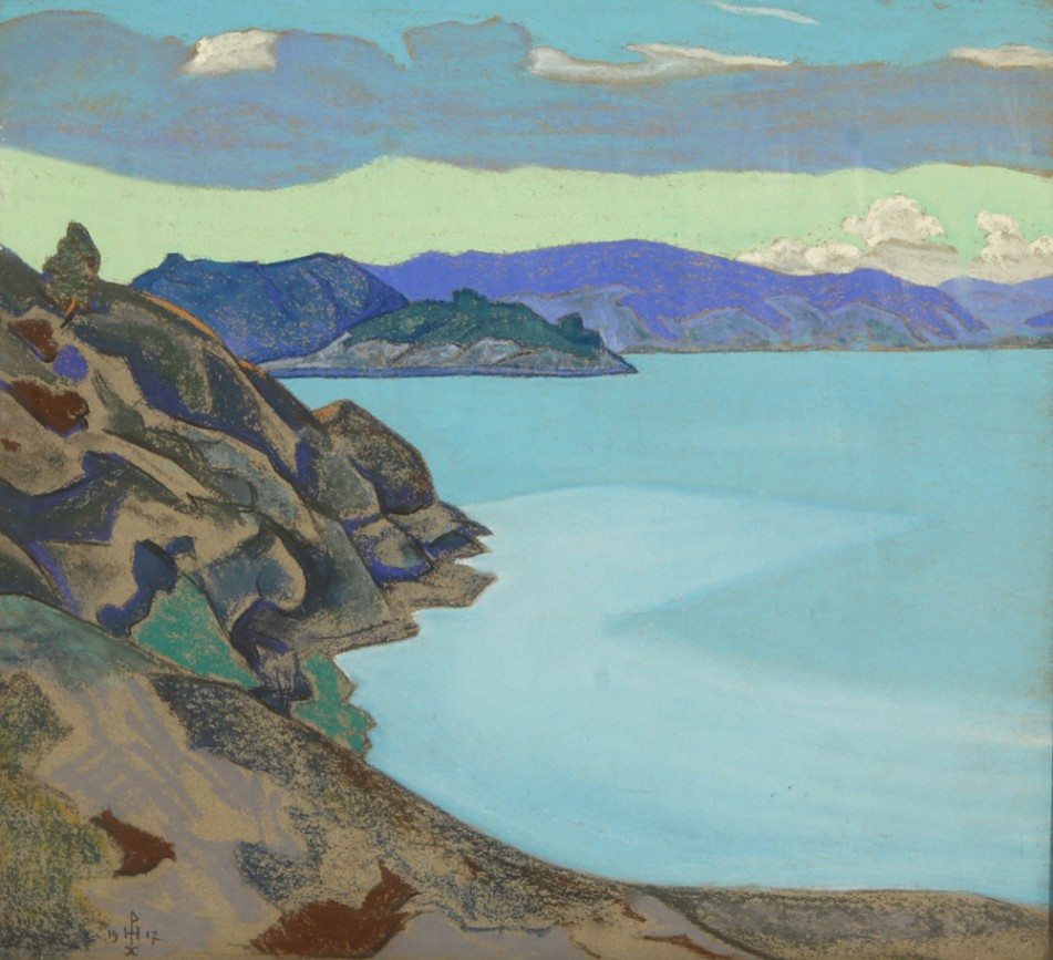 Nicolai Roerich, Lake Hympola, 1917