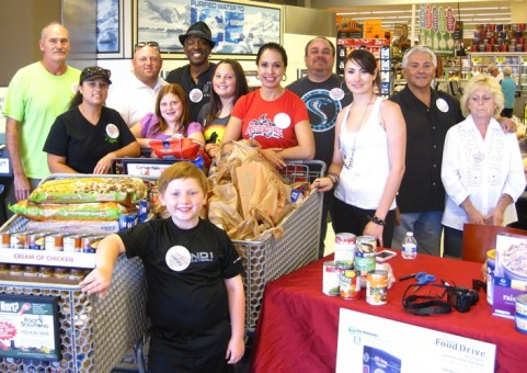 food drive collects 4700 lbs