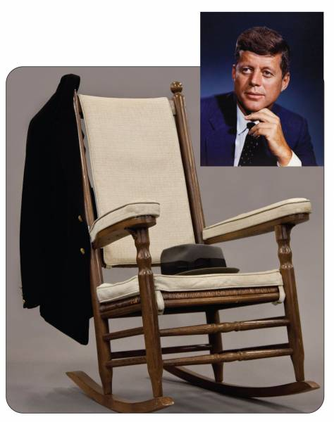 Items such as President Kennedyu0027s rocking chair fedora and coat will be sold.  sc 1 st  PRLog & Important items pertaining to John F. Kennedy and other u002760s icons ...