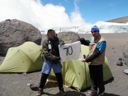 70th Birthday on Kilimanjaro