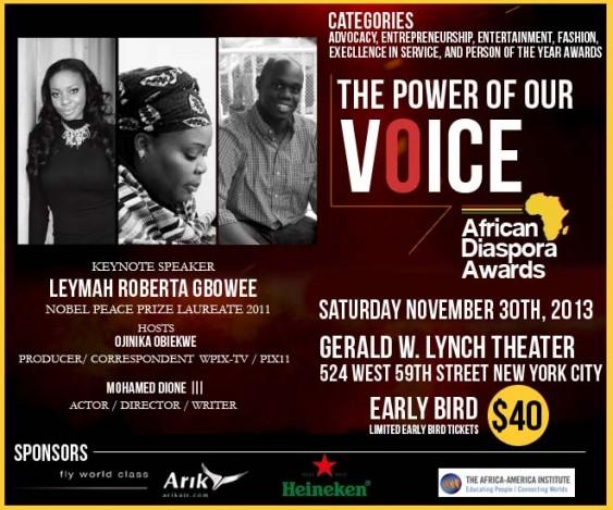 2013 African Diaspora Awards