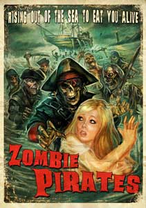 Zombie Pirates DVD cover
