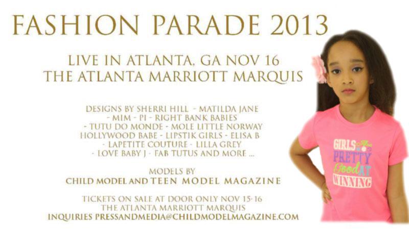 Aja Wooldridge Child Model Magazine Fashion Parade 2013