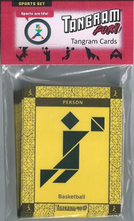 Tangram Fury Tangram Expansion Card Deck: Sports